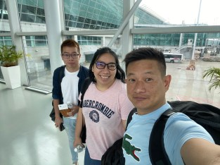 Arrival at Incheon Airport