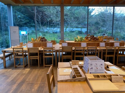 Innisfree Jeju House is more of a cafe than a retail shop