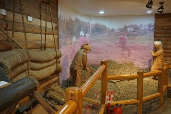 Exhibit on the agriculture life of Jejuans