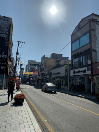 Streets of Gyeongju City