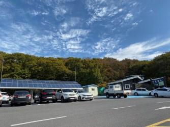 First car park at Yeongsil Trail