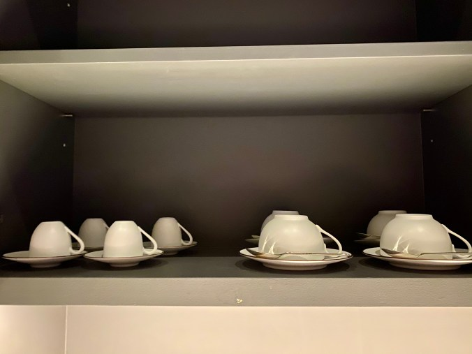 Cups in the Kitchenette