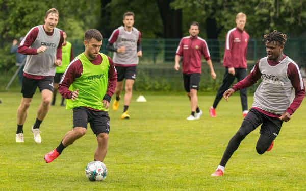 Dynamo Dresden: Trainingseinheit im Großen Garten - Foto: SGD / Steffen Kuttner