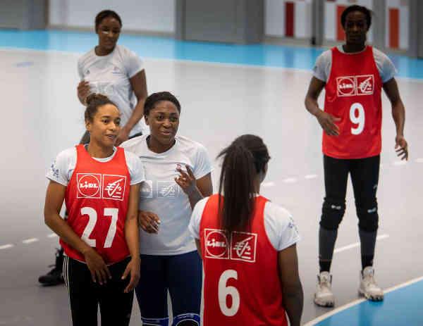 Handball EM 2020 Frankreich Training – Copyright: FFHANDBALL / J.SCHLOSSER