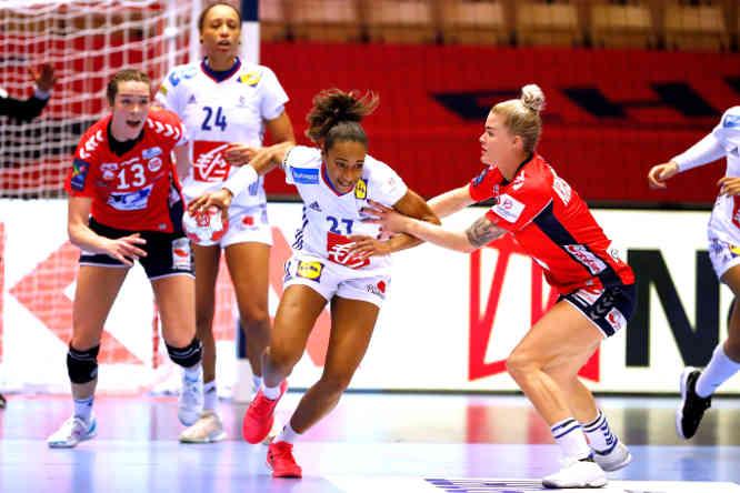Handball EM 2020 Finale – Estelle Nze Minko – Frankreich vs. Norwegen – Copyright: FFHANDBALL-S.PILLAUD
