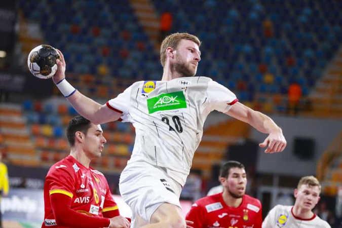 Handball WM 2021 Ägypten – Deutschland vs. Spanien – Philipp Weber – Copyright: © IHF / Egypt 2021