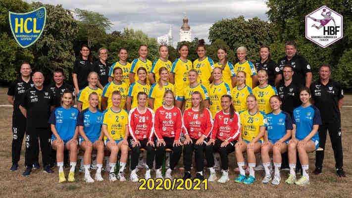 HC Leipzig – Handball 2. Bundesliga – Saison 2020-2021 – Foto: HC Leipzig