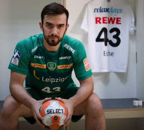 Marc Esche – Foto: SC DHfK Leipzig