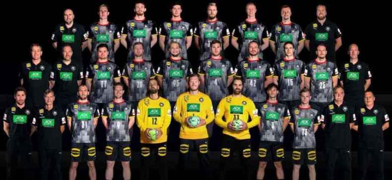 Handball DHB Deutschland Nationalmannschaft Männer – Copyright: Sascha Klahn / DHB