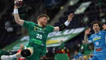 Handball Bundesliga – Maciej Gebala – SC DHfK Leipzig vs. TVB Stuttgart – Foto: Karsten Mann