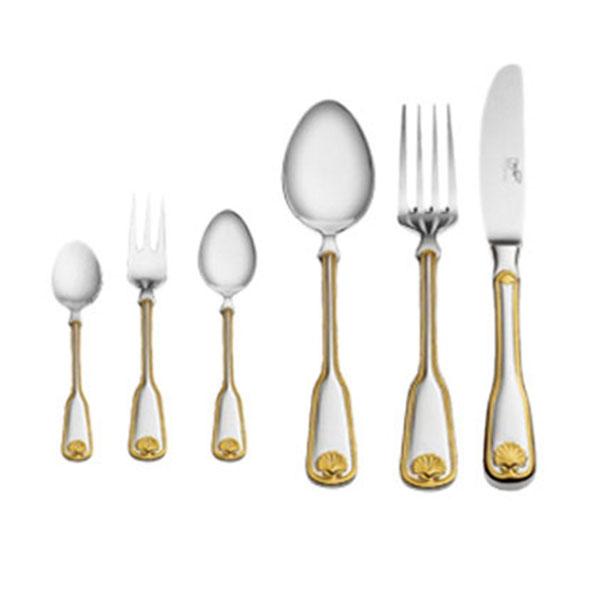 Дополнение к столовым приборам Венус декорированное золотом на 12 персон (36 предметов) от Цептер