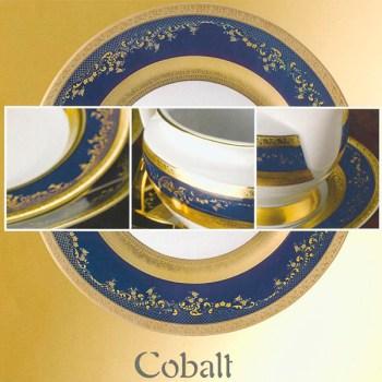 Фарфор Imperial Gold Кобальт от Цептер