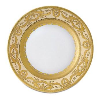 Фарфор Imperial Gold - Тарелки для Хлеба 17 см Кремовые (6 Единиц) от Цептер