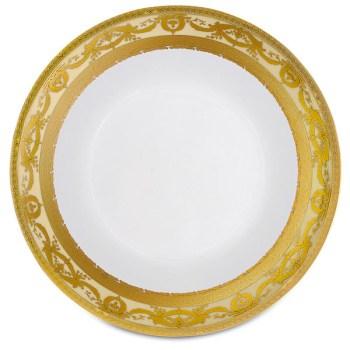 Фарфор Imperial Gold - Салатники 19 см Кремовые (6 Единиц) от Цептер