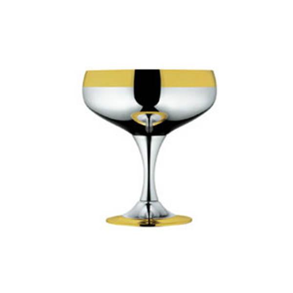 """Набор бокалов """"Барон"""" для шампанского - с золотым декором от Цептер"""