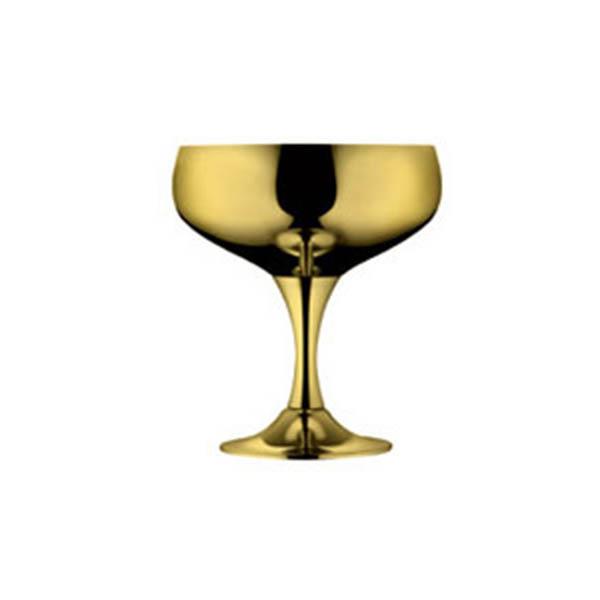 """Набор бокалов для шампанского """"Барон"""" - позолоченный от Цептер"""