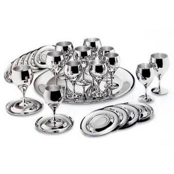 Набор бокалов «Принц» - нержавеющая сталь от Цептер