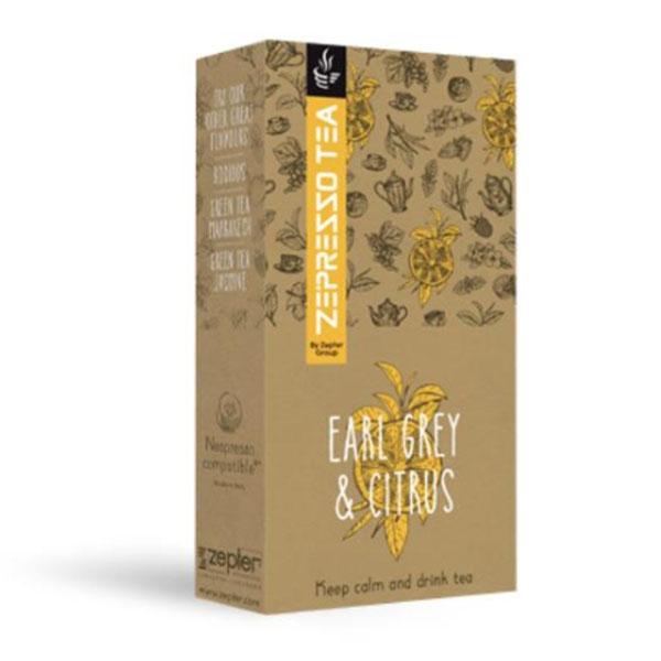 "Чай Zepresso Tea ""Earl Grey & Citrus"" от Цептер"