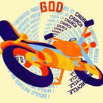 I would rather be thinking about God on my motorcycle than in Church thinking about my Motorcycle-01