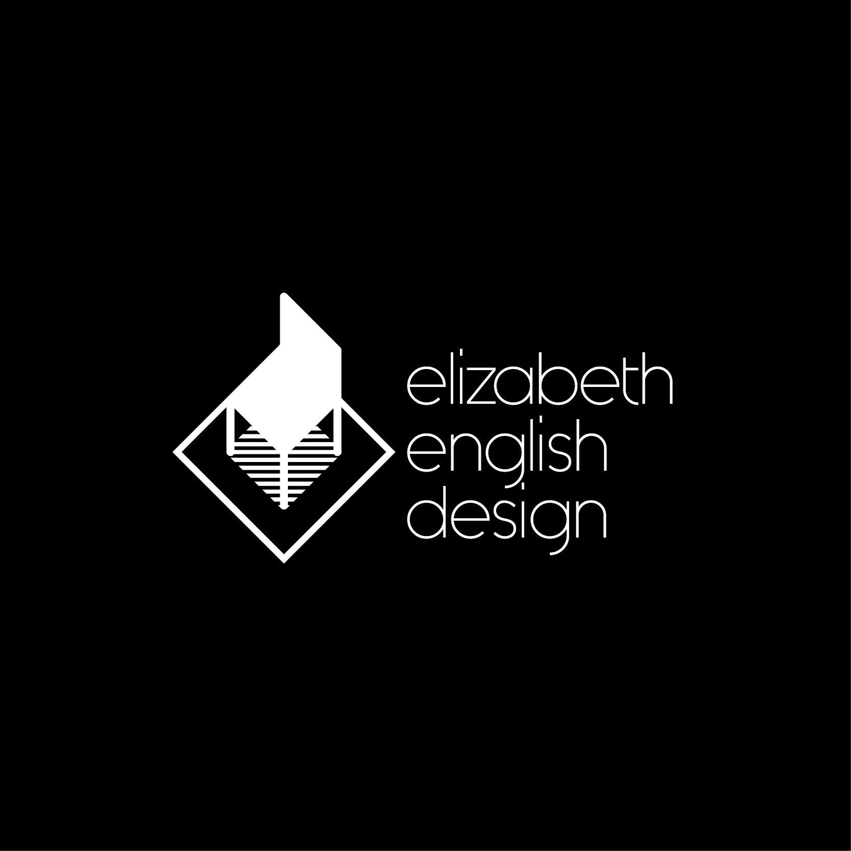 Elizabeth English Design Logo | Zerflin