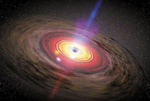 La bataille de l'information des trous noirs.