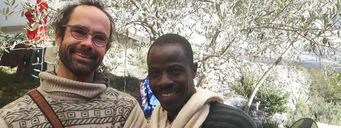 Cédric Herrou, aide aux migrants et contestation à la loi.