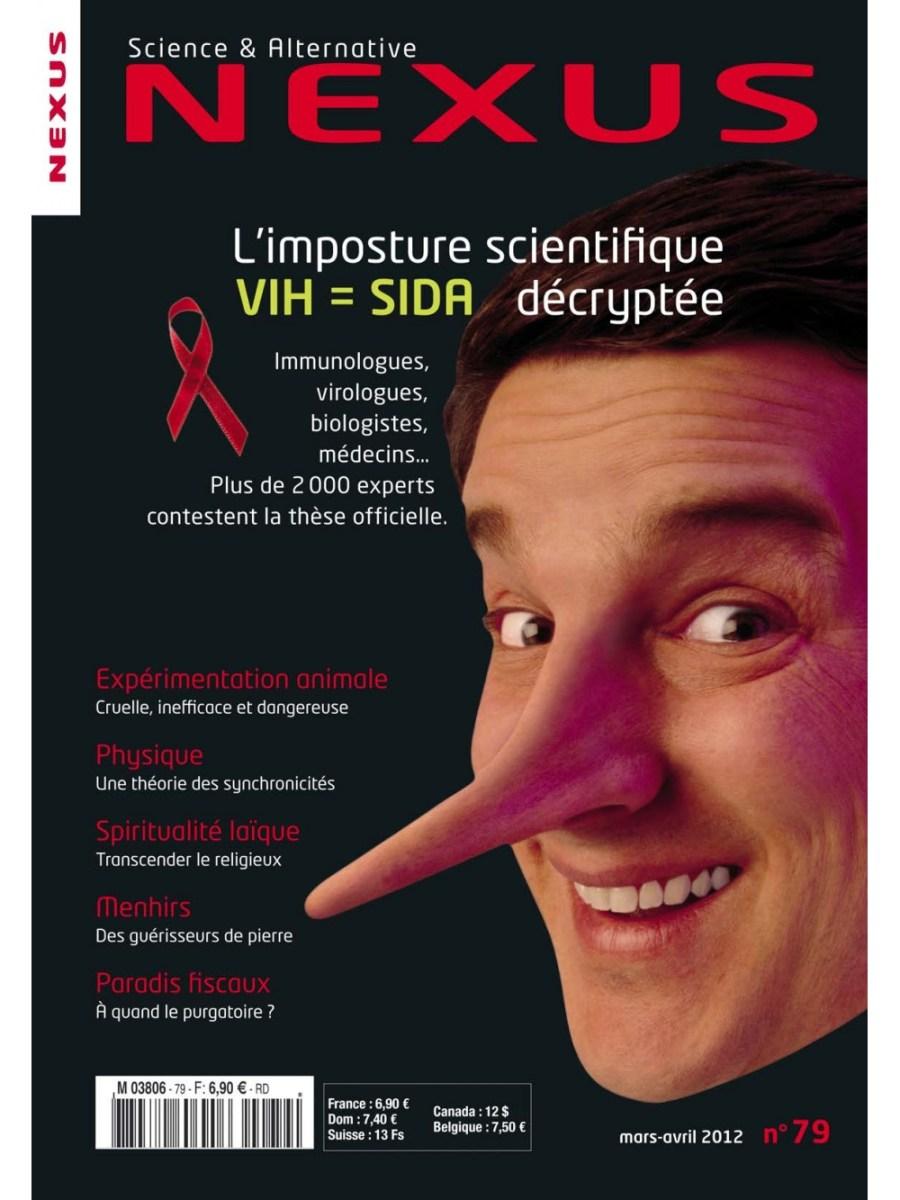 Vu sur Nexus: L'imposture scientifique VIH=SIDA décryptée