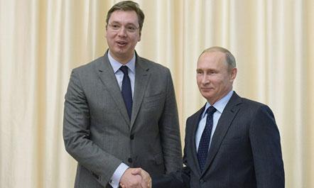 Putin takon Vuçiç, i jep 'bekimin' para zgjedhjeve