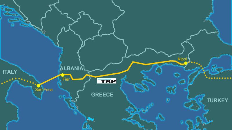 """TAP """"bëhet"""" shqiptar, krijohet ndërmarrja për shpërndarjen e gazit"""