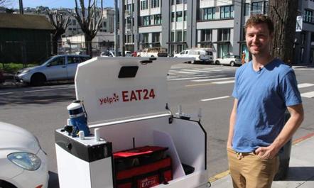 """""""Eat 24"""", ushqimin ua sjell roboti"""