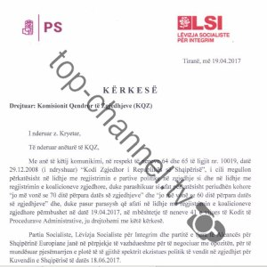 PS-LSI shtyjnë koalicionin