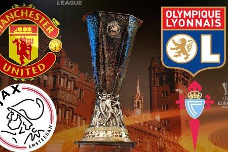 Ajaxi, Manchester Unitedi, Celta Vigo dhe Lyoni kualifikohen në gjysmëfinale të Europa League