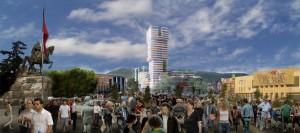 """Kulla e radhës në qendër të kryeqytetit, pagëzohet """"Eyes of Tirana"""""""