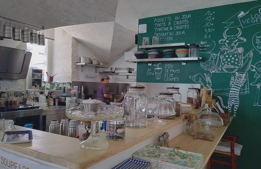 Photo intérieur de La cantine végétale