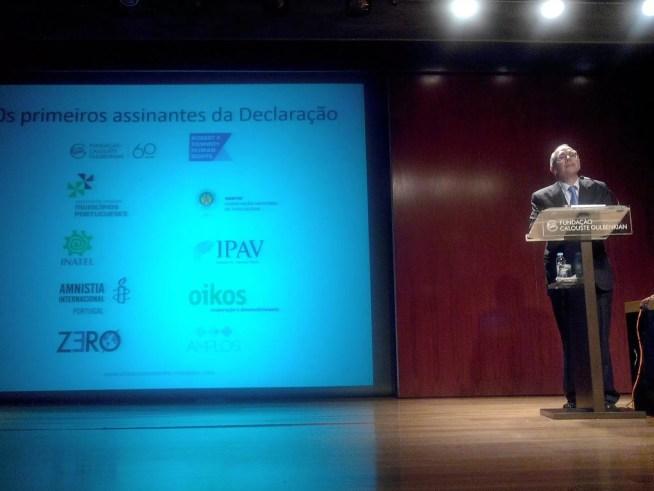 A ZERO é uma das organizações subscritoras da Declaração de Lisboa