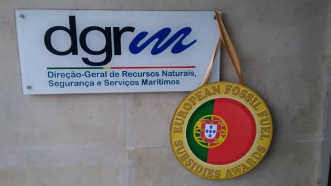 Licença GALP/ENI para furo em Aljezur ganhou o 1º lugar dos prémios europeus dos piores subsídios aos combustíveis fósseis