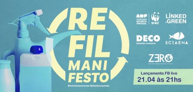 Manifesto Refil: pela disponibilização de produtos de limpeza e higiene pessoal a granel