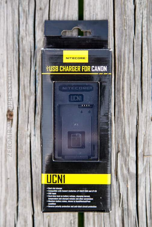 Nitecore UCN1 Canon Camera Charger Review – ZeroAir Reviews