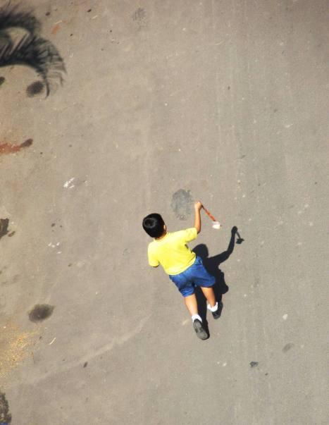 Dance Shadows Arial Overhead Zero Creativity Photography