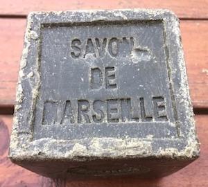Vaiselle savon de Marseille