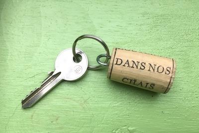 Porte-clés bouchons de liège