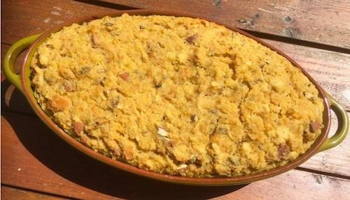 Le bodding, gâteau de pain bruxellois