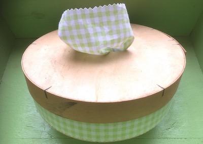 Boite mouchoir lavable