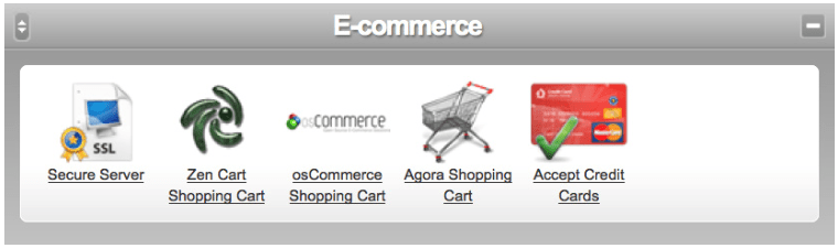 cp e-commerce screen