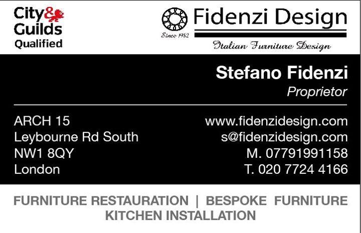 business card, zero due design, fidenzi design, stefano fidenzi