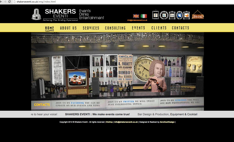 shakers eventi