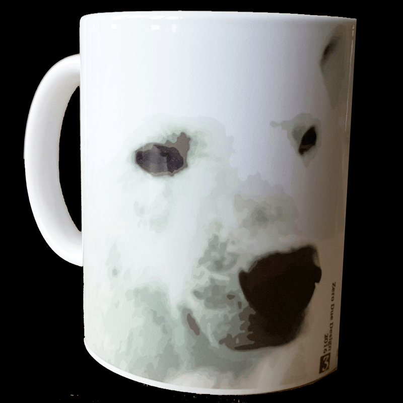 polar bear mug zero due design
