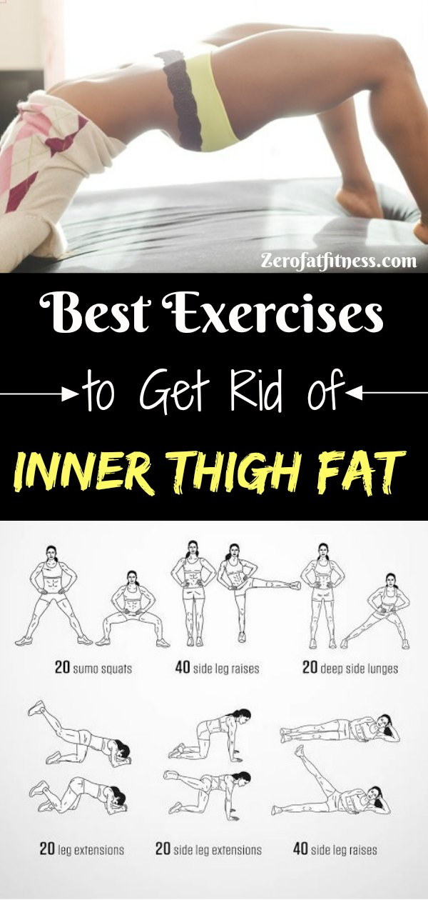 Best Thigh Fat Workouts to lose inner thigh fat hips and tone legs at home. These exercises will reduce thighs and hips fast in 7 days.Try It!