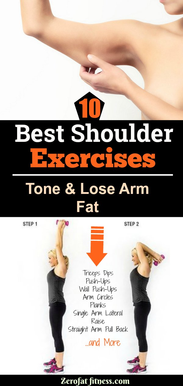 10 Best Shoulder Exercises to Tone and Lose Arm Fat Fast
