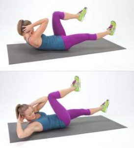 Bicycle Crunches Exercise